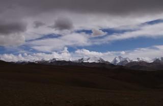 トングラ峰より見るヒマラヤ山脈
